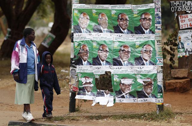 No celebrations in Harare