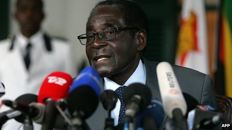 Robert Mugabe is running for a seventh term in office