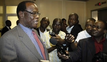 Mudede refuses to answer questions on voters roll | SW Radio Africa