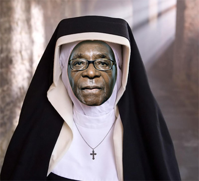 Mother Gabriel in Zimbabwe