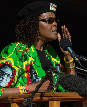 Mugabe Returns Home, Wife Hurt in Freak Accident