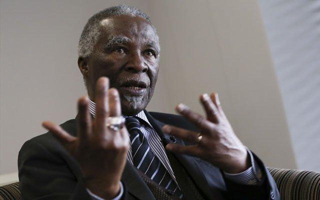 Thabo Mbeki speaks out