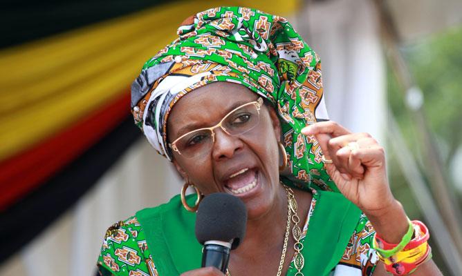 Bizarre accidents mar Mugabe return