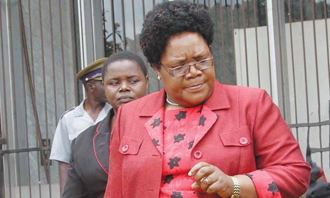 Mujuru speaks on coalition leader