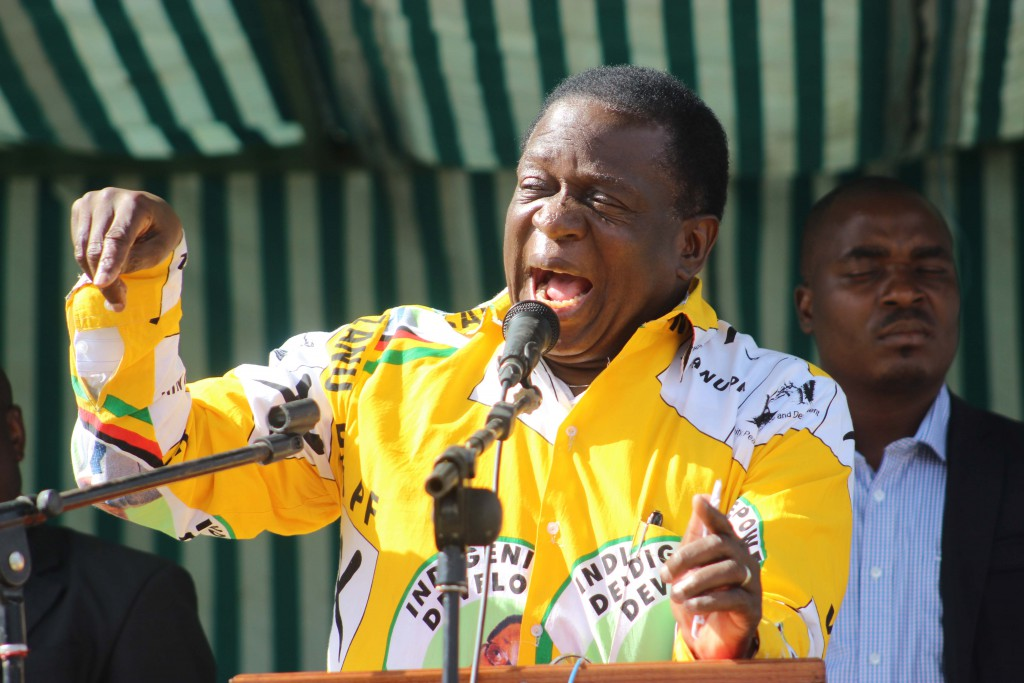 Defining moment for Mnangagwa