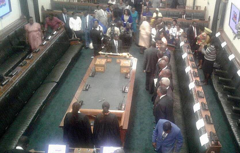 LIVE: President Mugabe opens the 5th Session of the 8th Parliament