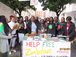 Forward to the Past – Zimbabwe Vigil Diary