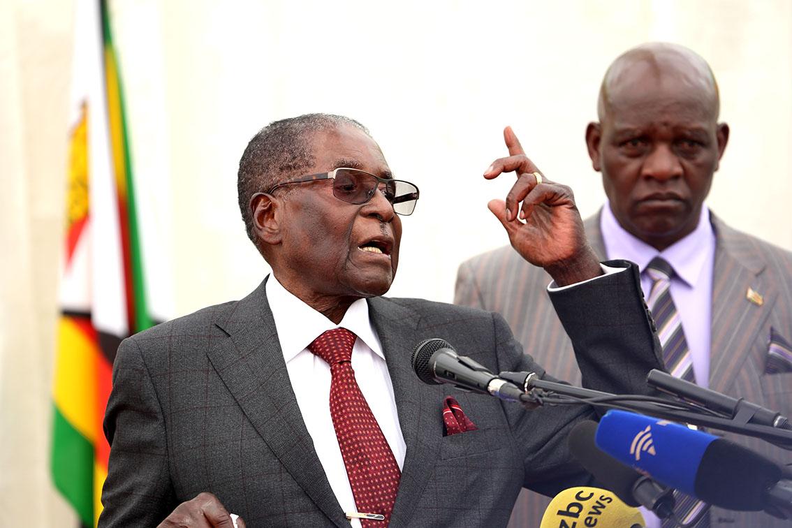 Confirmed: Mugabe is G40 leader