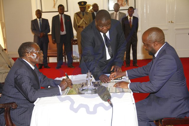 LATEST: New Ministers sworn in