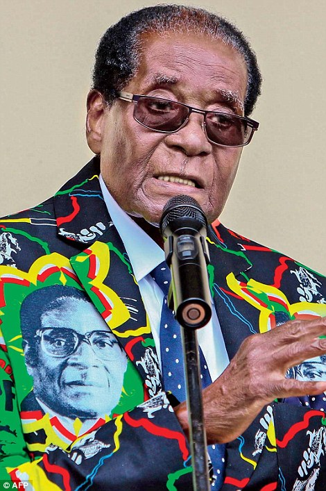 Zimbabwe President Robert Mugabe was fired as leader of the ruling ZANU-PF party and replaced by Emmerson Mnangagwa, the vice president he fired earlier this month