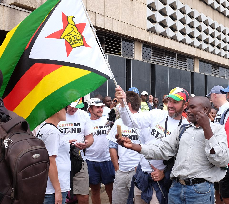 Zimbabweans from all party of society came together in a show of unity to demand the removal of President Robert Mugabe