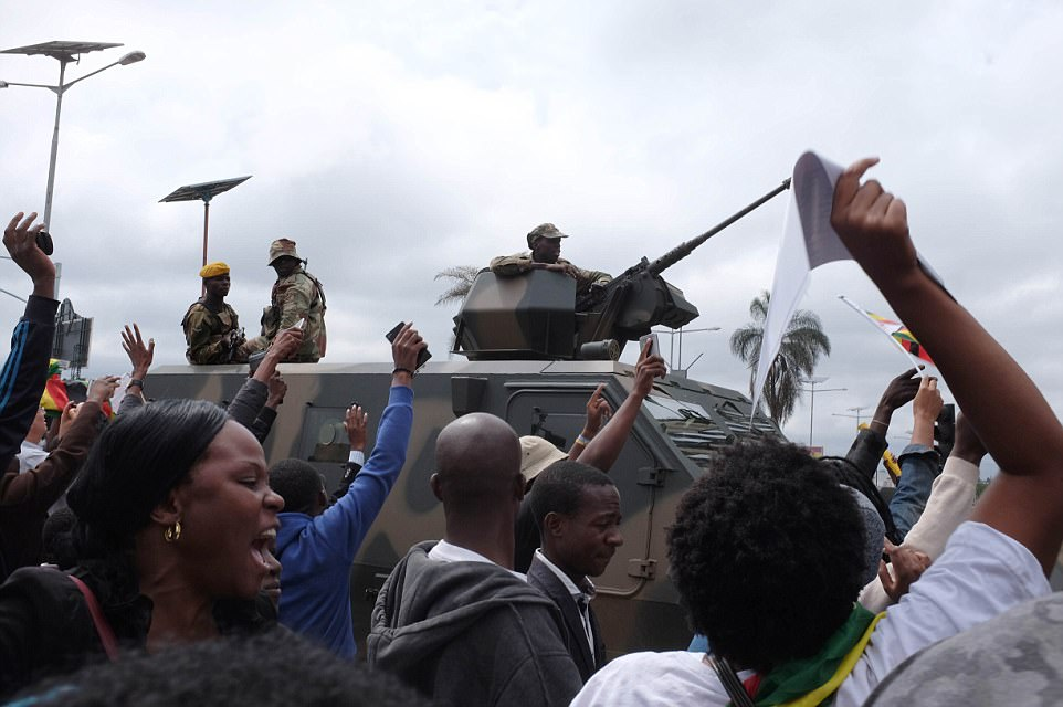 The security forces stood by as the demonstration, in contrast to previous year when protests were brutally quashed