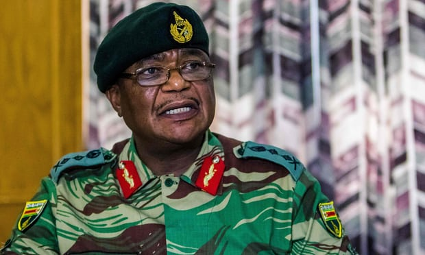 Zimbabwe army chief warns military could 'step in' over party purge