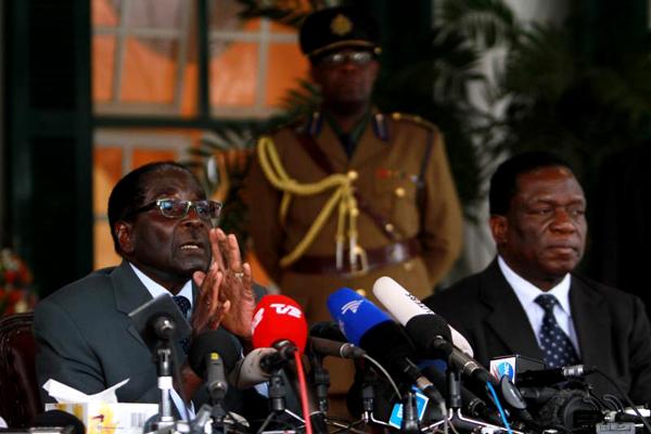 Fired Mnangagwa was Mugabe's hatchet man