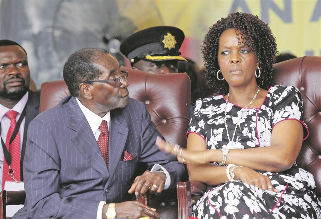 Mugabe And Wife Grace Heed To Mnangagwa's Call Offer To Return $5 Billion