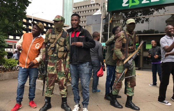 Soldiers Brutally Assault Vendors In Chivi For Refusing To Give Them Cash