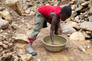 Artisanal miners' gold output increases