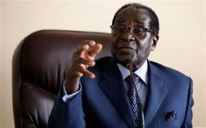 Mugabe flies out
