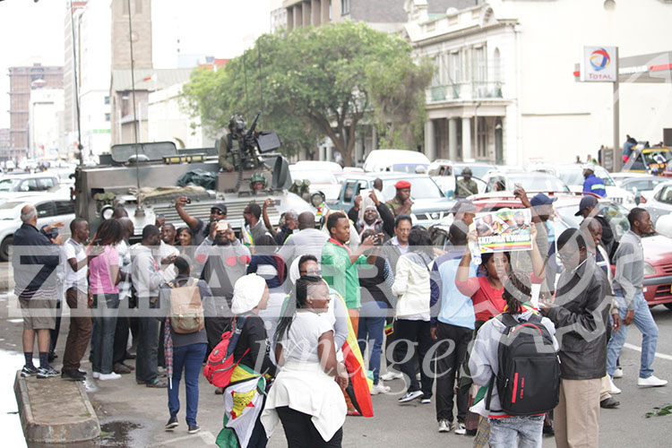LIVE from HARARE: #Mugabe Must Go rally! - Zimbabwe Situation