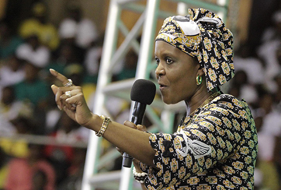 Chamisa speaks on Grace Mugabe 'link'