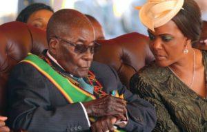Mugabe threatens Mnangagwa