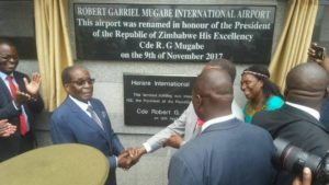 Renaming of Harare International Airport an insult to Zimbabweans