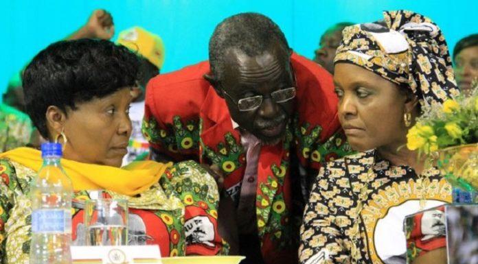 Mnangagwa Slaps Grace, Appoints Oppah Acting President Of Zimbabwe