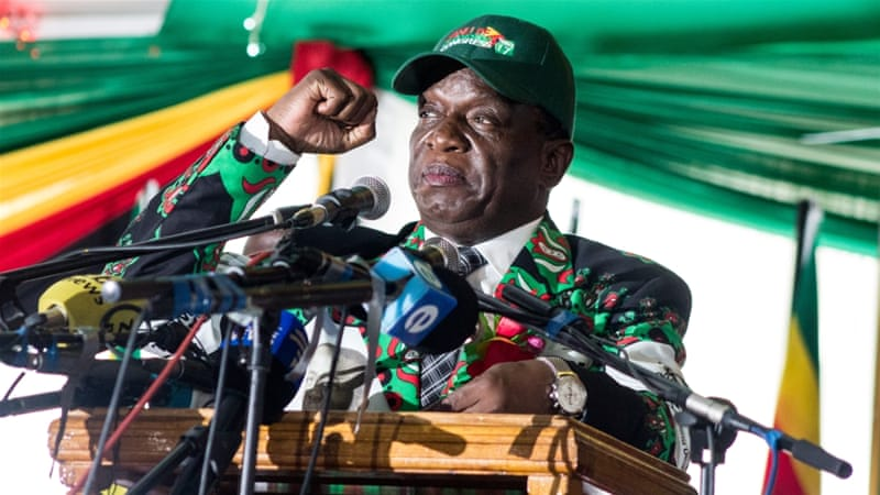 What could Mnangagwa's army ties mean for Zimbabwe?