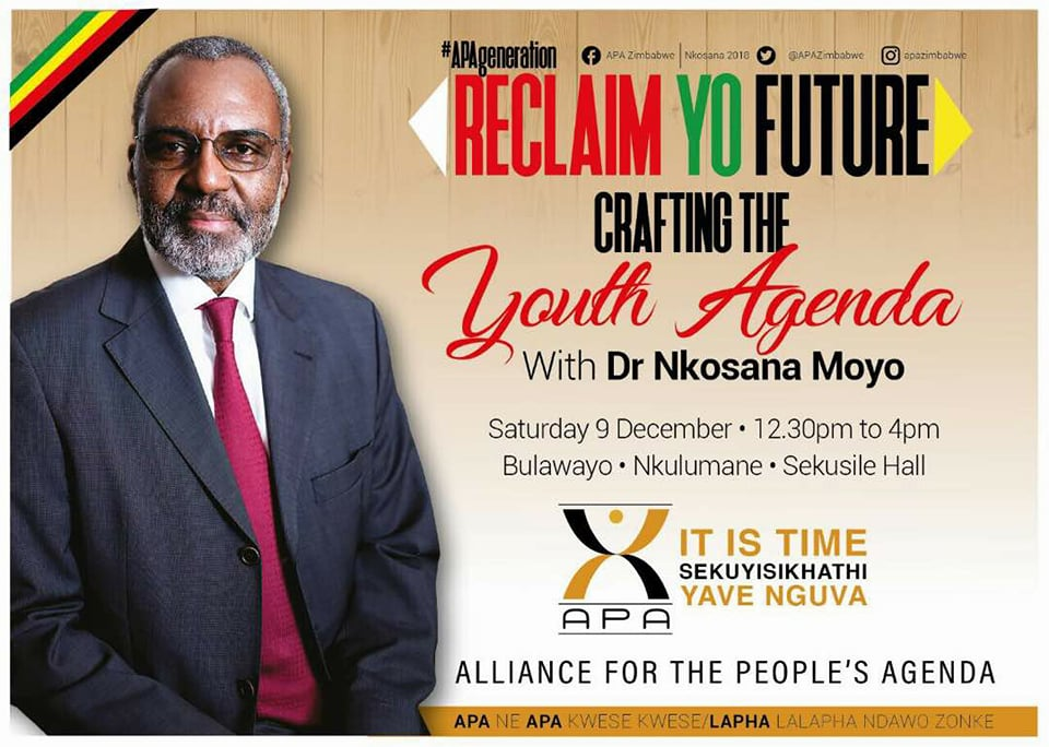 "Nkosana Moyo Holds First ""Youth Interface"" Public Rally"