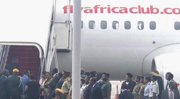 Mnangagwa Pulls New 'Magufuli' Shocker Flies Economy Class