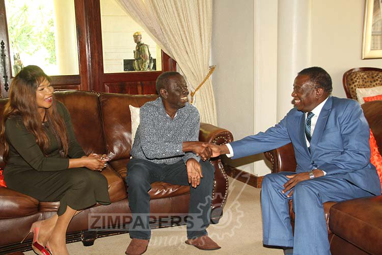 UPDATED: President visits Tsvangirai