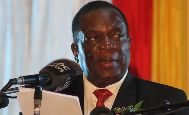 President Mnangagwa, Trump off To Switzerland