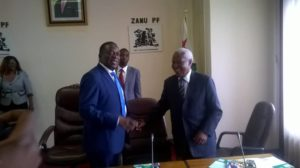 MNANGAGWA BREAKING NEWS IN PICTURES: Warm Moment With Sekeramayi
