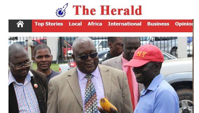 Drama As Herald Backs Mudzuri To Replace Tsvangirai