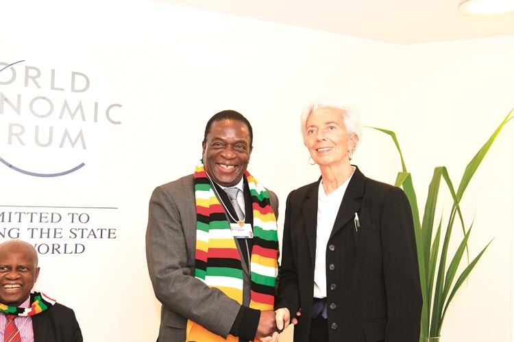 Breaking: IMF meets Mnangagwa