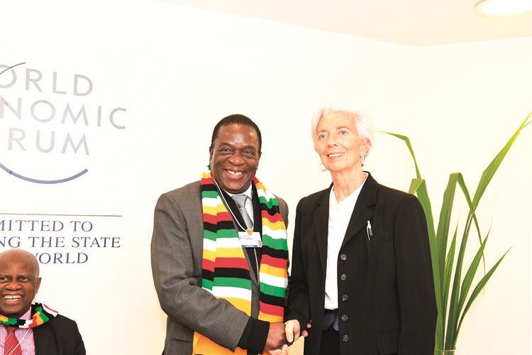 Breaking: IMF meets Mnangagwa