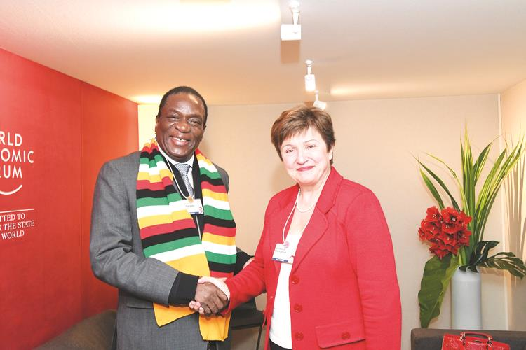 ED meets IMF, World Bank chiefs