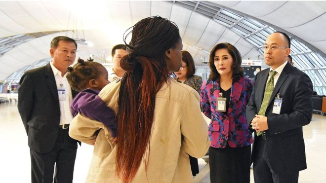 Reprieve As Zim Family At Last Leaves Bangkok Airport After 3 Months