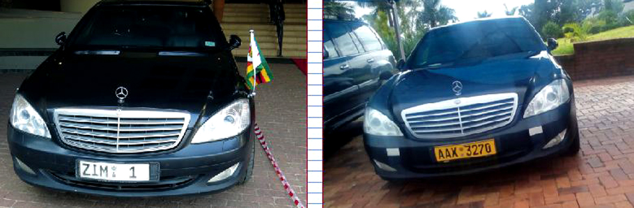 Mugabe keeps Mercedes-Benz limo