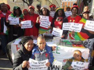 Vigil mourns Tsvangirai 'Father of the nation' – Zimbabwe Vigil Diary: 17th February 2018