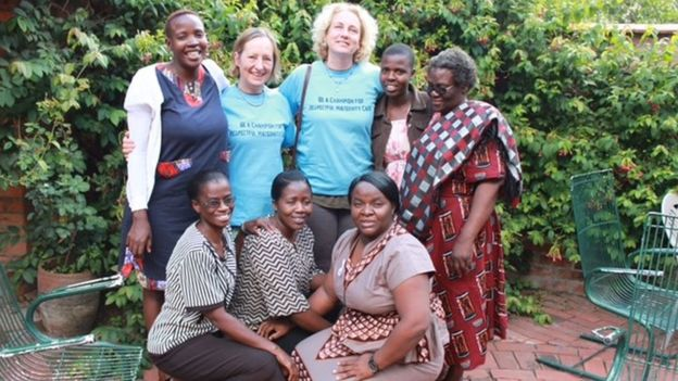 Midwives from Swansea in Zimbabwe