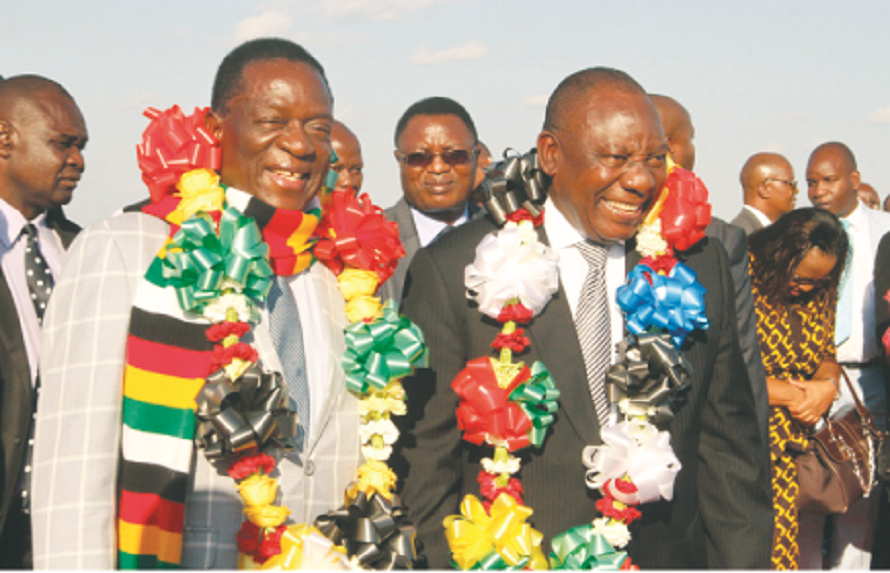 Zim, SA commit to development . . . As ED pledges polls in July