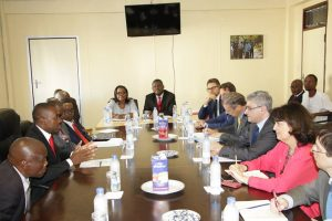 Chamisa, MDC Alliance and Party leadership meets EU observer team