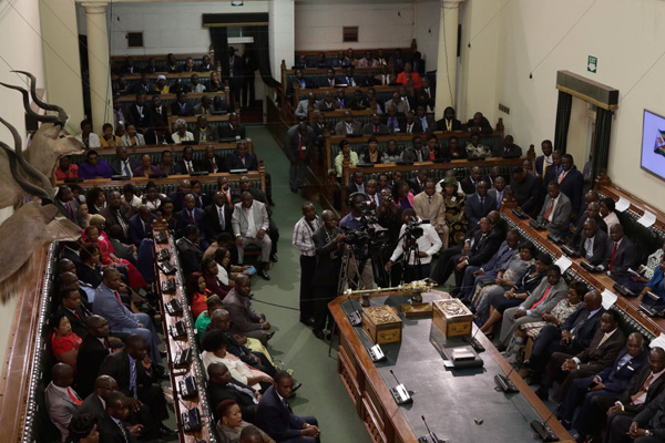 Punish violent political parties, Zesn tells Parliament