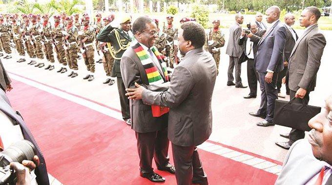 Zim, DRC strengthen ties