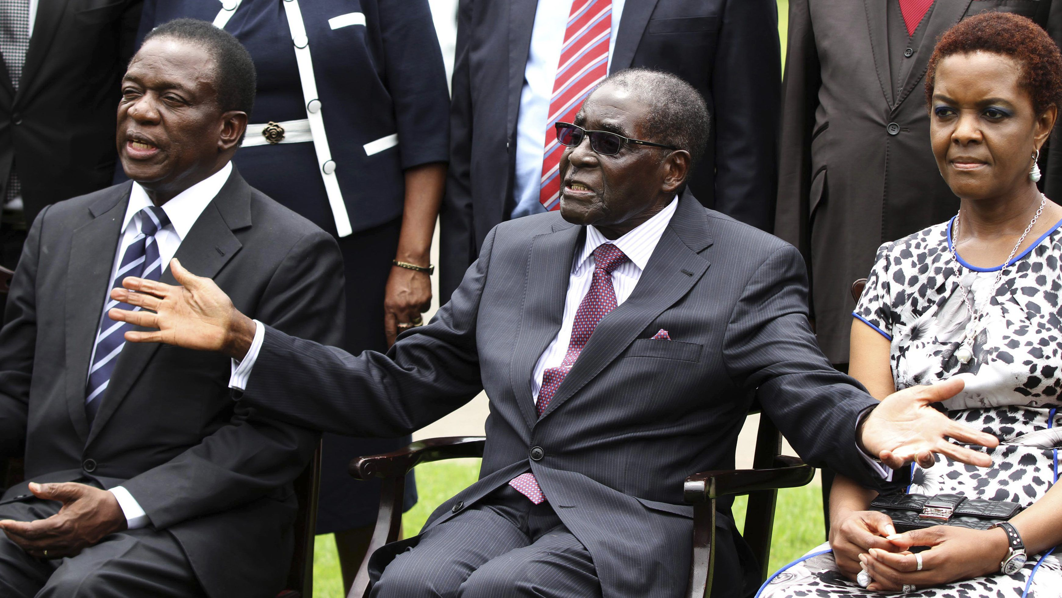 Mnangagwa unhappy about Mugabe's renewed involvement in politics