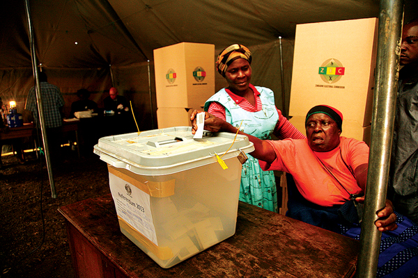 Sadc offers Zim election help