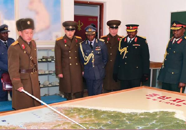 Zim military chiefs' North Korea visit raises eyebrows