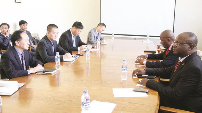 ED visit: Chinese delegation jets in