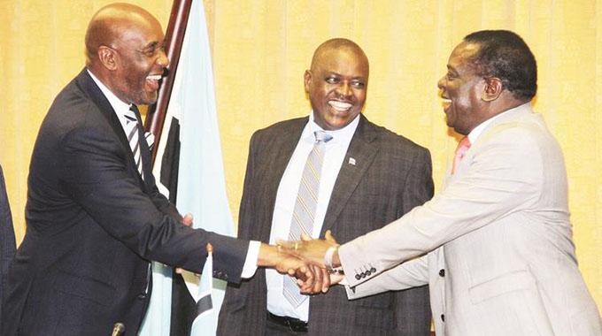 UPDATED: Masisi pledges to strengthen ties